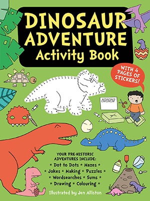 Dinosaur Adventure Activity Book