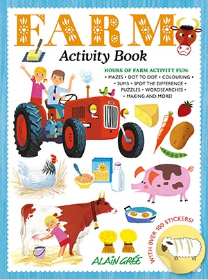 Alain Gree_Farm Activity Book