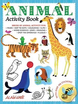 Alain Gree_Animal Activity Book