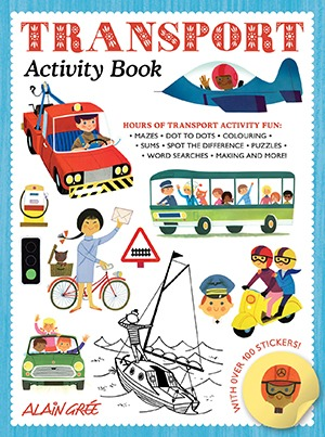 Alain Gree_Transport Activity Book