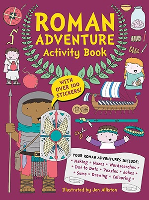 Roman Adventure Activity Book