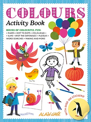 Alain Gree_Colours Activity Book