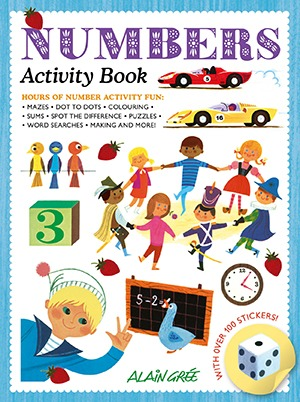 Alain Gree Numbers Activity Book