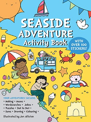 Seaside Adventure Activity Book
